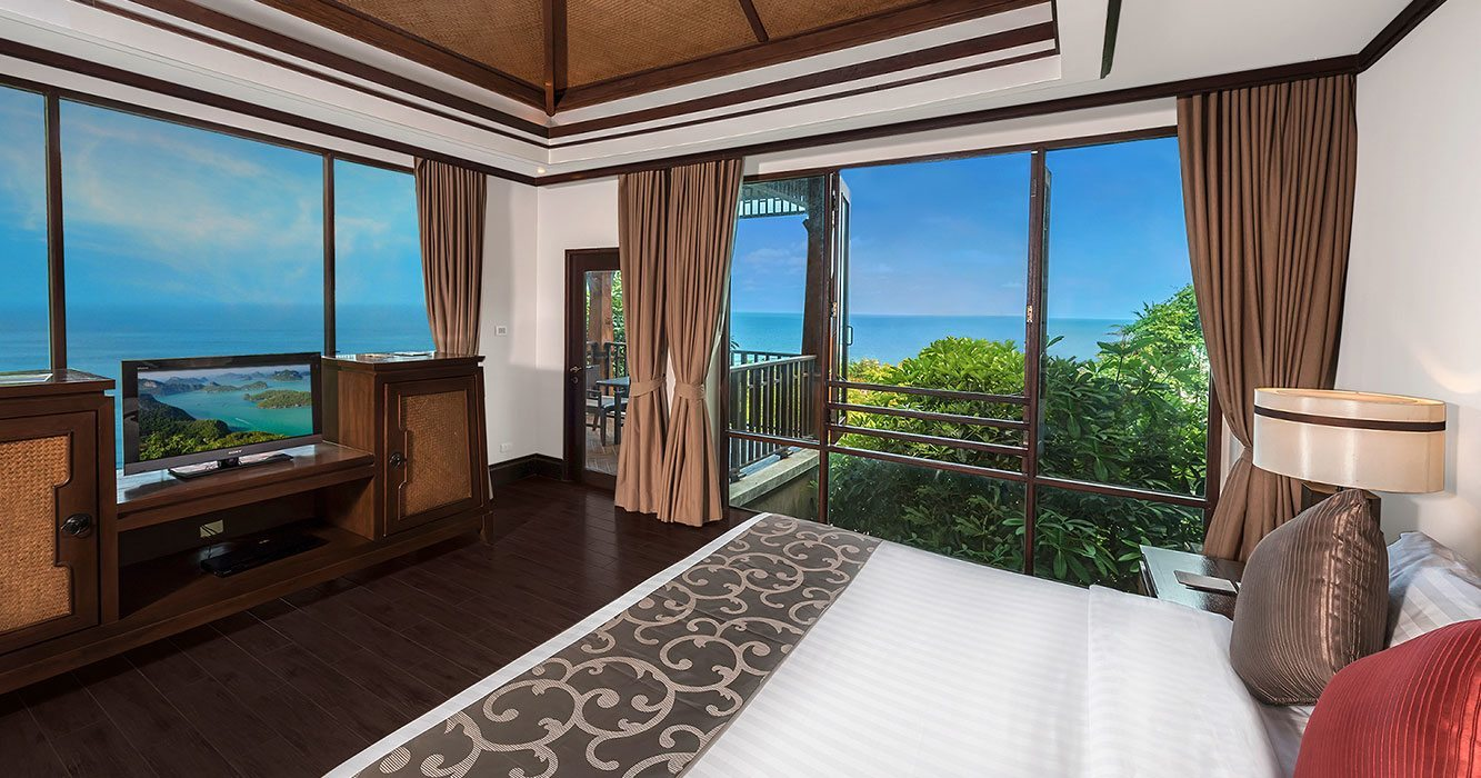 seaview accommodation samui
